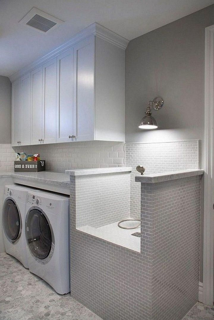 ✔️ 96 Best Laundry Room Cabinets Ideas 10