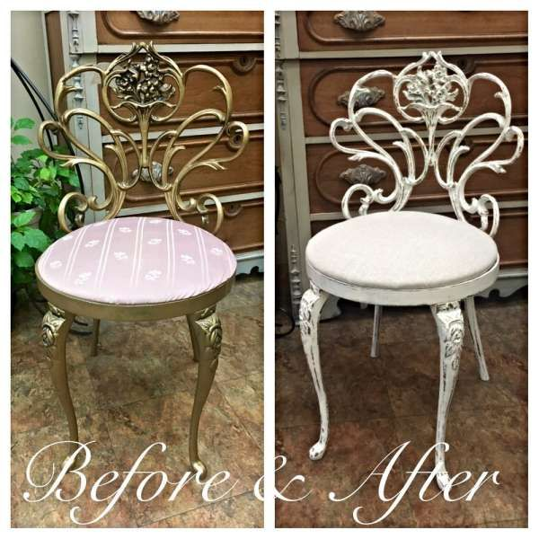 18+ Best Shabby Chic Vanity Chair Collection