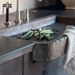 55 Cool Rustic Kitchen Sink - Craft and Home Ideas