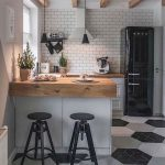 90 Beautiful Small Kitchen Design Ideas – Ideaboz - bingefashion.com/interior