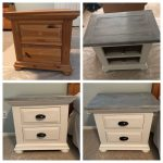 Broyhill Fontana nightstands done in Annie Sloan chalk paint.