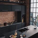 COMPONENTS FOR INDUSTRIAL STYLE KITCHEN DECORATION