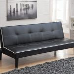 Coaster furniture 550044 black Tufted futon with contrast stitching