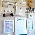 DIY Command Center Wall for Busy Moms