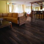 Ebony olive wood is perfect in a commercial space.