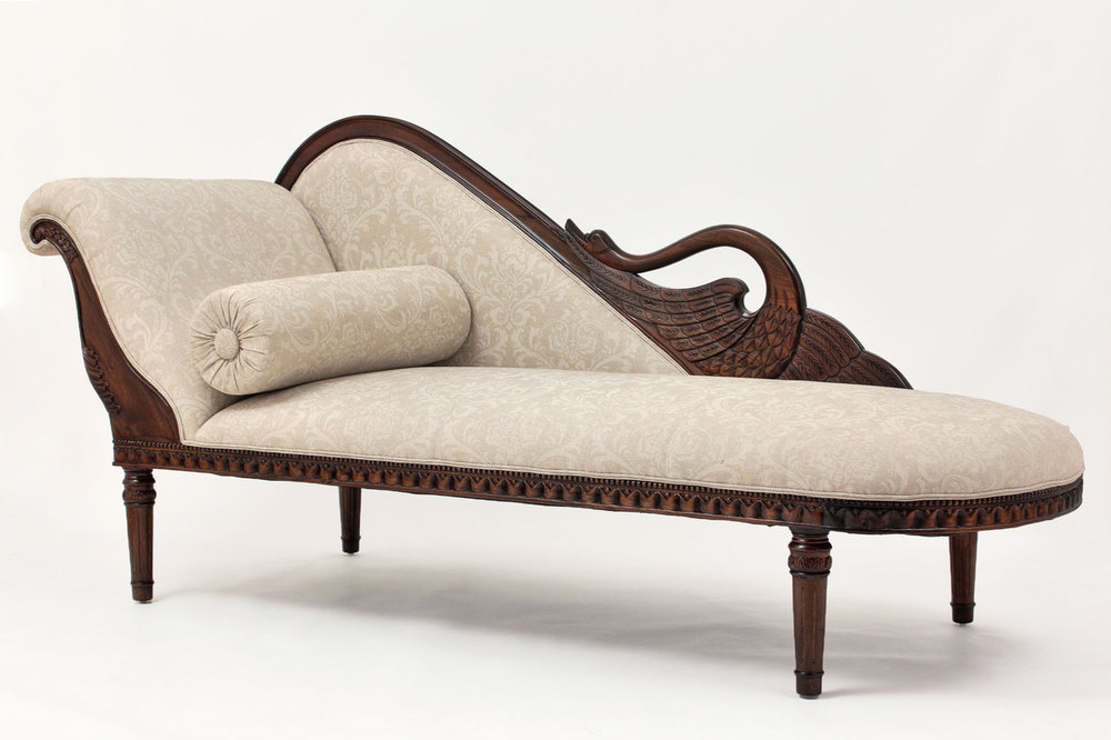 Empire Swan Chaise Lounge