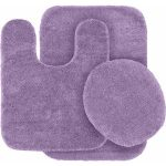 Garland Traditional Soft & Plush 3PC Bath Rug Set - Purple - Walmart.com