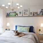 I love the shelf over the bed. I'm thinking I might finally know what to do in o...