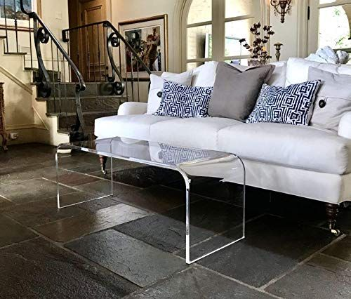 New Acrylic Coffee Table 44 Long X 16 Wide X 16 high x 3/4 Thick online shopping – Tophitsfurniture
