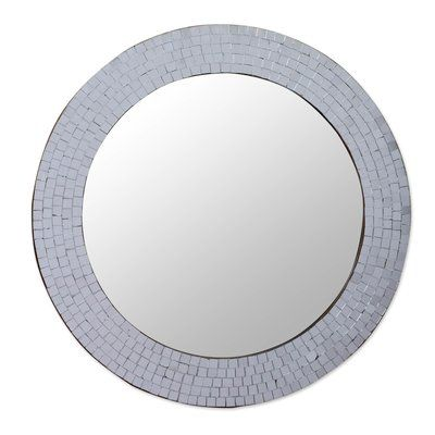 Novica Glass Mosaic Wall Mirror | Wayfair
