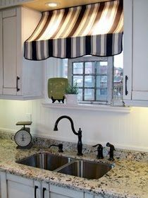 Recaptured Charm: Just saw this little awning type window treatment and thought …