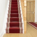 Rosalind Wheeler Almon Tufted Red Stair Runner | Wayfair.co.uk
