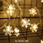Sioneit New Wedding LED Decorative Lights Snowflakes Shape Christmas Christmas ....