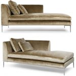 This sleek and sophisticated chaise longue is one of our bestselling models and ...