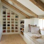 furniture for pitched storage ideas