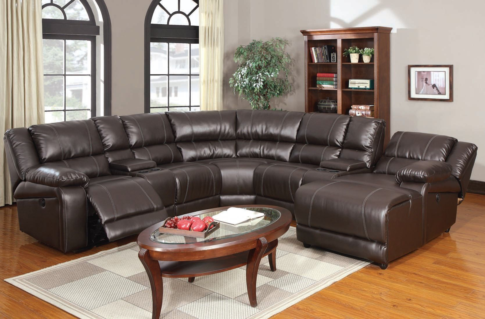 Acme Zanthe Home Theather Sectional Set in Espresso 50500-SET – Sectionals
