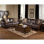 Axiom - Walnut Living Room Set