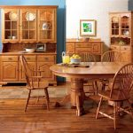 """Brookville 25"""" Corner Buffet & Hutch by Keystone Collection"""