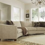 Curved Sectional Sofa Set – Rich Comfortable Upholstered Fabric – Contemporary C… - pickndecor/home