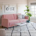DHP Pin Tufted Transitional Sofa Bed in Velvet, Multiple Colors - Walmart.com