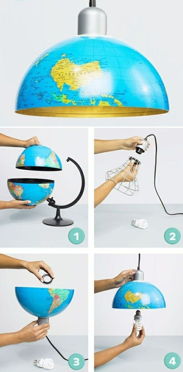 DIY Lampe: 76 super coole Bastelideen dazu – https://bingefashion.com/haus