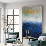 Extra large wall art artwork paintings, Very large paintings, Large living room canvas, Extra large wall decor,Huge abstract paintings EM192