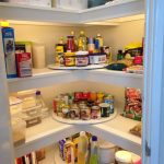 Lady-Susans Turn Tables & Well-Lit Pantry Organization Ideas