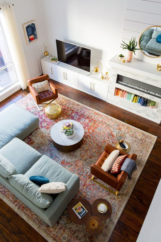 Living Room Rugs – All You Need To Know • One Brick At A Time