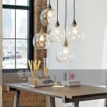 Online Shop Modern brief american light transparent round ball glass pendant lamp bar lamp lamps | Aliexpress Mobile