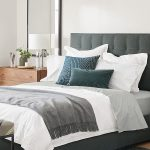 Room & Board -  Avery Upholstered Bed - Modern & Contemporary Beds - Modern Bedroom Furniture