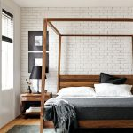 Room & Board -  Hale Wood Canopy Bed - Modern & Contemporary Beds - Modern Bedroom Furniture