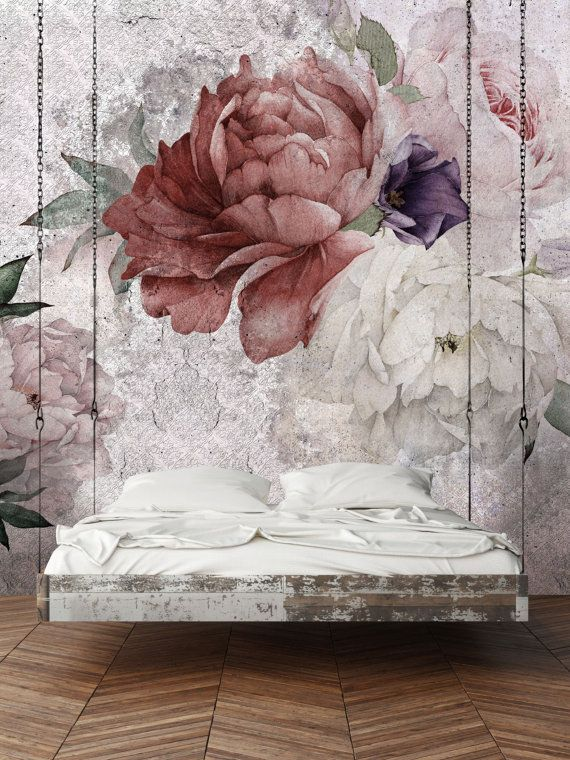 Shabby – Customized Unique Wallpaper, Removable, Washable and Reusable