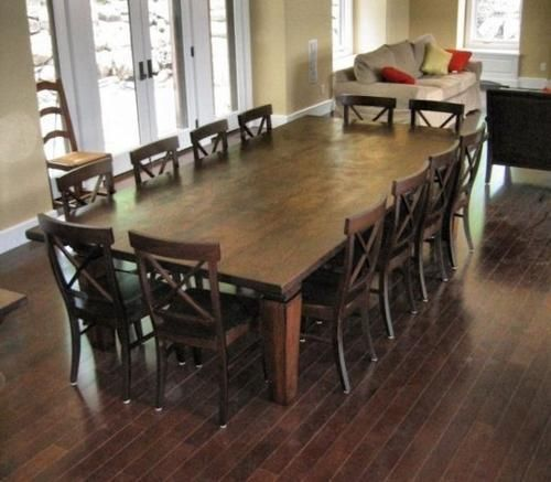 10 Seater Dining Table With Bench – TopDekoration.com