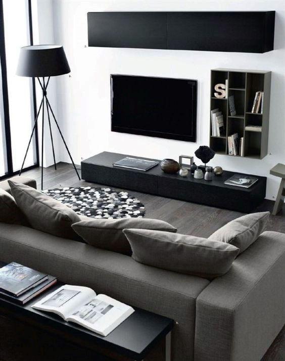 100 Bachelor Pad Living Room Ideas For Men – Masculine Designs