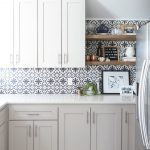 11 Kitchen Tile Backsplash Ideas for White Cabinets - That Aren't White
