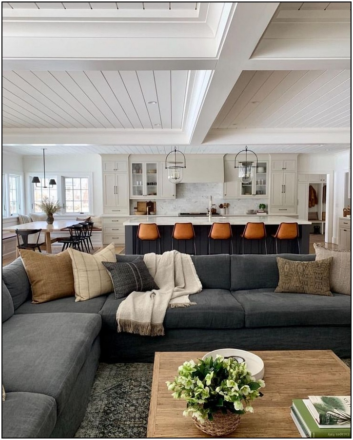121 modern boho living room decor page 29 | Pointsave.net