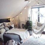 14 Cool White Bedroom Design Ideas #Whitebedroom white bedroom, black white bedr...