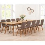 10 Seater Dining Table With Bench - TopDekoration.com