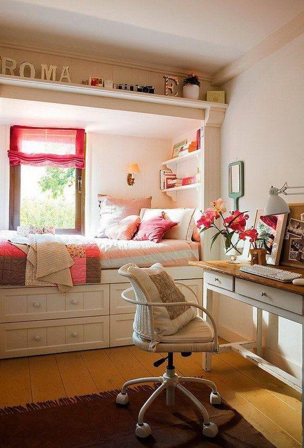 40+ Beautiful Teenage Girls' Bedroom Designs – For Creative Juice