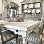 73+ Awesome Vintage French Country Dining Room Design Ideas