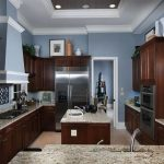 30 Popular Kitchen Color Scheme Ideas For Dark Cabinets - HOOMDESIGN