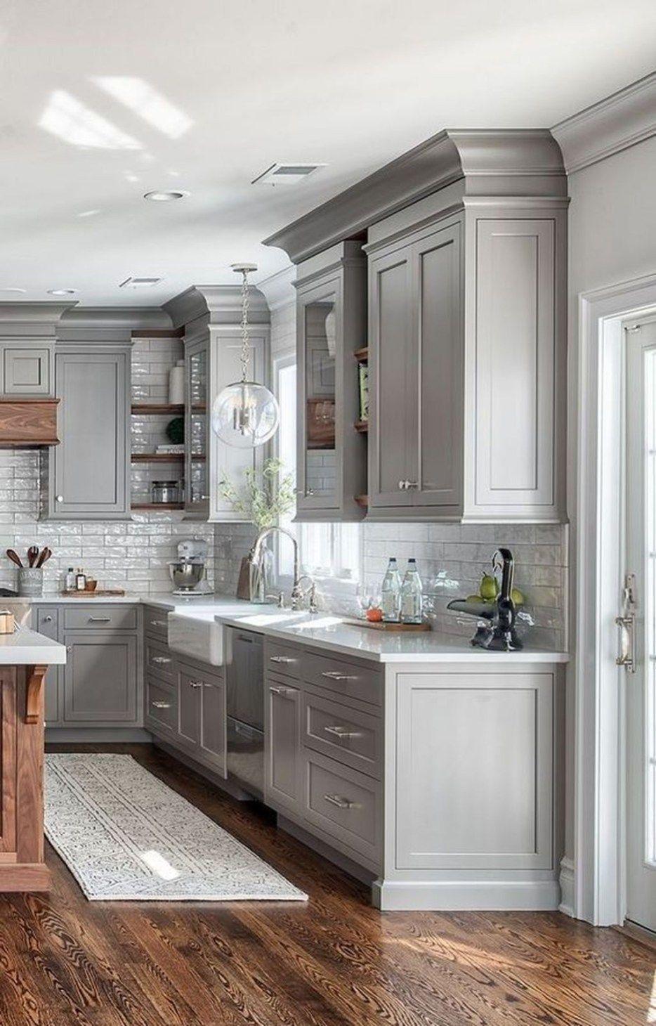 34 Luxury Farmhouse Kitchen Design Ideas To Bring Modern Look – Trendehouse