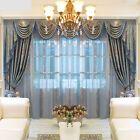 luxury European drapes chenille embroidery thick cloth curtain valance E727    eBay