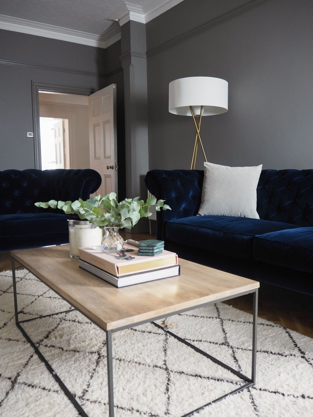 Our living room – adding the final touches with West Elm