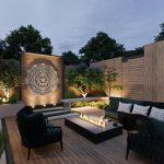 Tesseract Sacred Geometry Outdoor Metal Wall Art Sculpture, Extra Large Metal Wall Art, Modern Outdoor Decor, Geometric Wall Art
