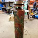 Unusual Floor Lamp Unigue Floor Lamp Plasma Metal Art Metal Floor Lamp Led Floor Lamp High Floor Lamp.