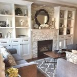 51 Dreamy Family Room Interior With Fireplace Design Ideas