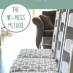 How to Reupholster a Chair Seat: The No-Mess Method - the thinking closet