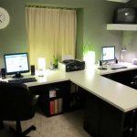 2 Person Desk for Home Office - Home Furniture Design
