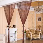 2.9x2.9m Modern Living Room Curtains Thread Curtains String Curtain Door Bead Sheer Curtains for Window Bedroom Cortinas Salon-in Curtains from Home & Garden